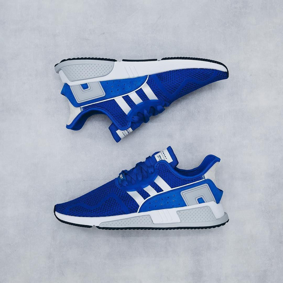 Adidas EQT Cushion ADV: AZUL zapatillas zapatos Pinterest Adidas, zapatillas AZUL 6e3b3d