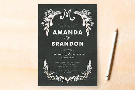 Wedding invitation wording that wonu0027t make you barf Traditional - invitation non formal