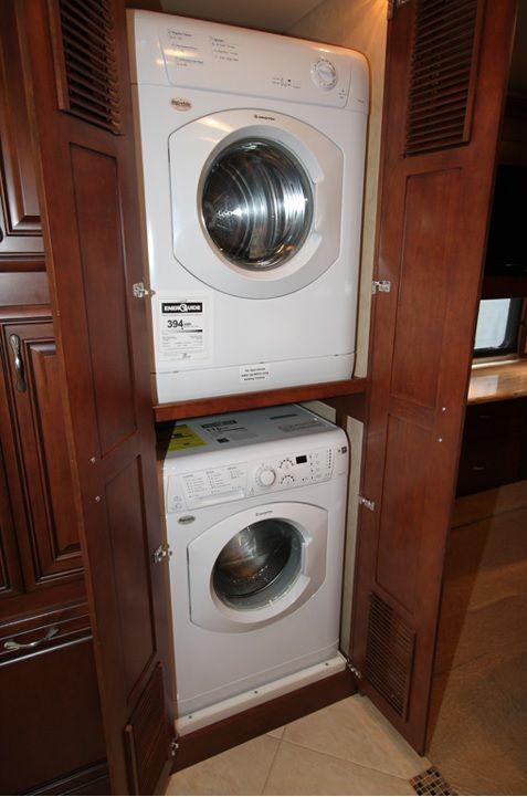 Stackable Washer Amp Dryer In Hallway Closet Hallway