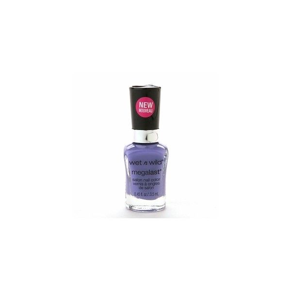 Wet n Wild MegaLast Salon Nail Color, On a Trip 213C (7,47 BRL) ❤ liked on Polyvore featuring beauty products, nail care, nail polish, wet n wild nail polish and wet n wild