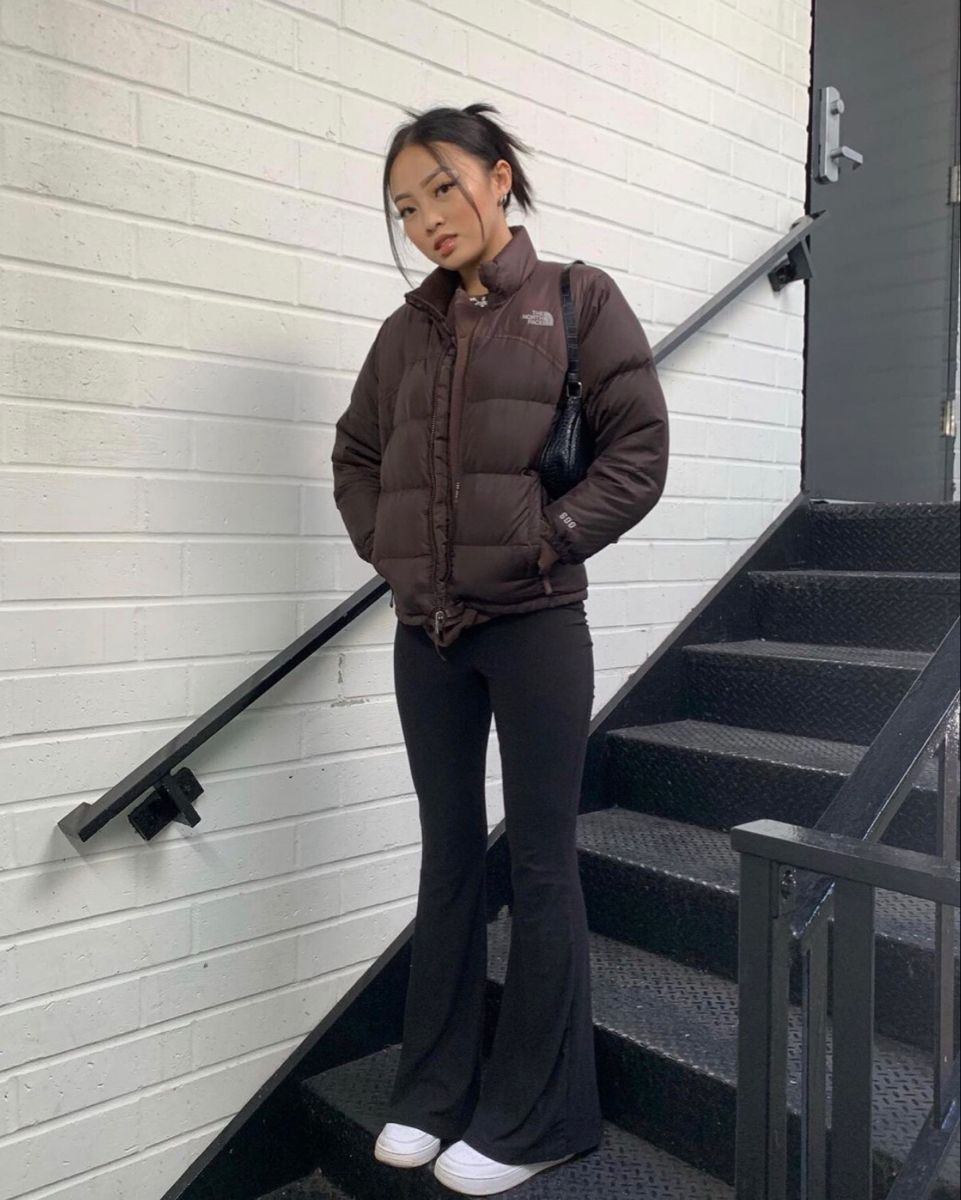 Bb Mariah Puffer Jacket Outfit Trendy Outfits Retro Outfits [ 1200 x 961 Pixel ]
