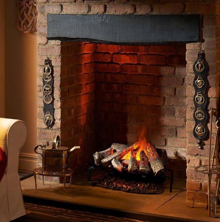 Silverton Electric Fire From Kernow Fires Inglenook Fireplace