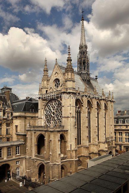 La Sainte Chapelle The Holy Chapel 1248 Paris France La