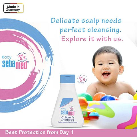 Babycarewithsebamed Baby S Hair Is Finer And Fragile It Needs An Extra Care To Prevent Dryness Or Damage Sebamed Baby Sh Baby Shampoo Sebamed Baby Skin Care