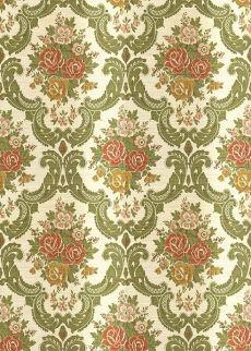 Vintage wallpaper 0948 miniature wallpaper tapeten - Viktorianische mobel ...