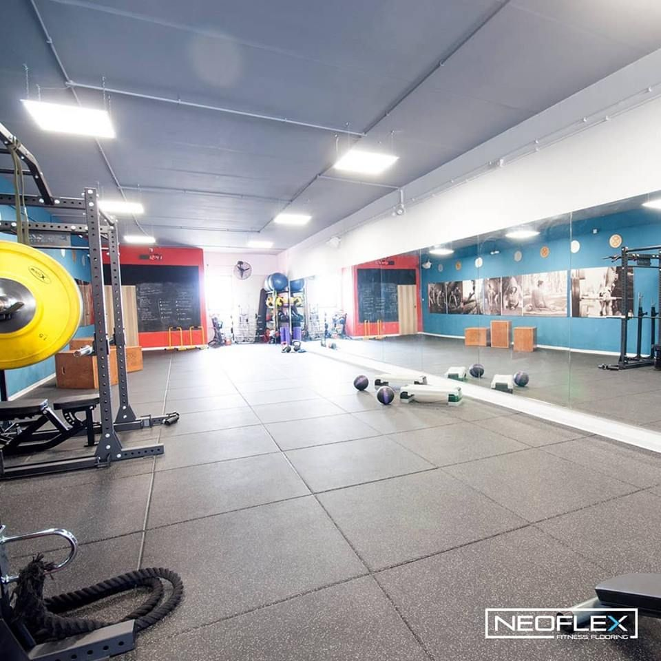 Neoflex Fitness Flooring At Core Functional Fitness In Malta