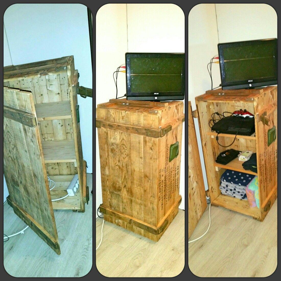 Ammo box kast