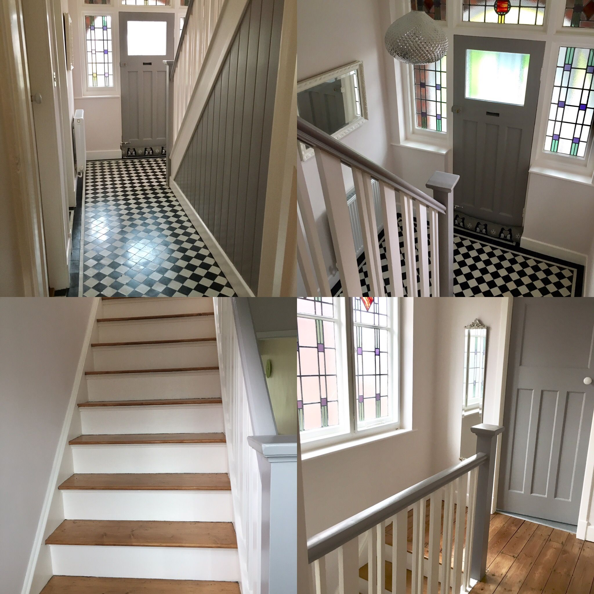 My 1930 S Hallway Renovation With Original Minton Tiles