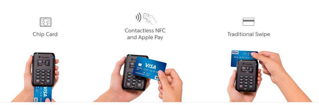 Lee PayPal Here, el lector de tarjetas todo en uno
