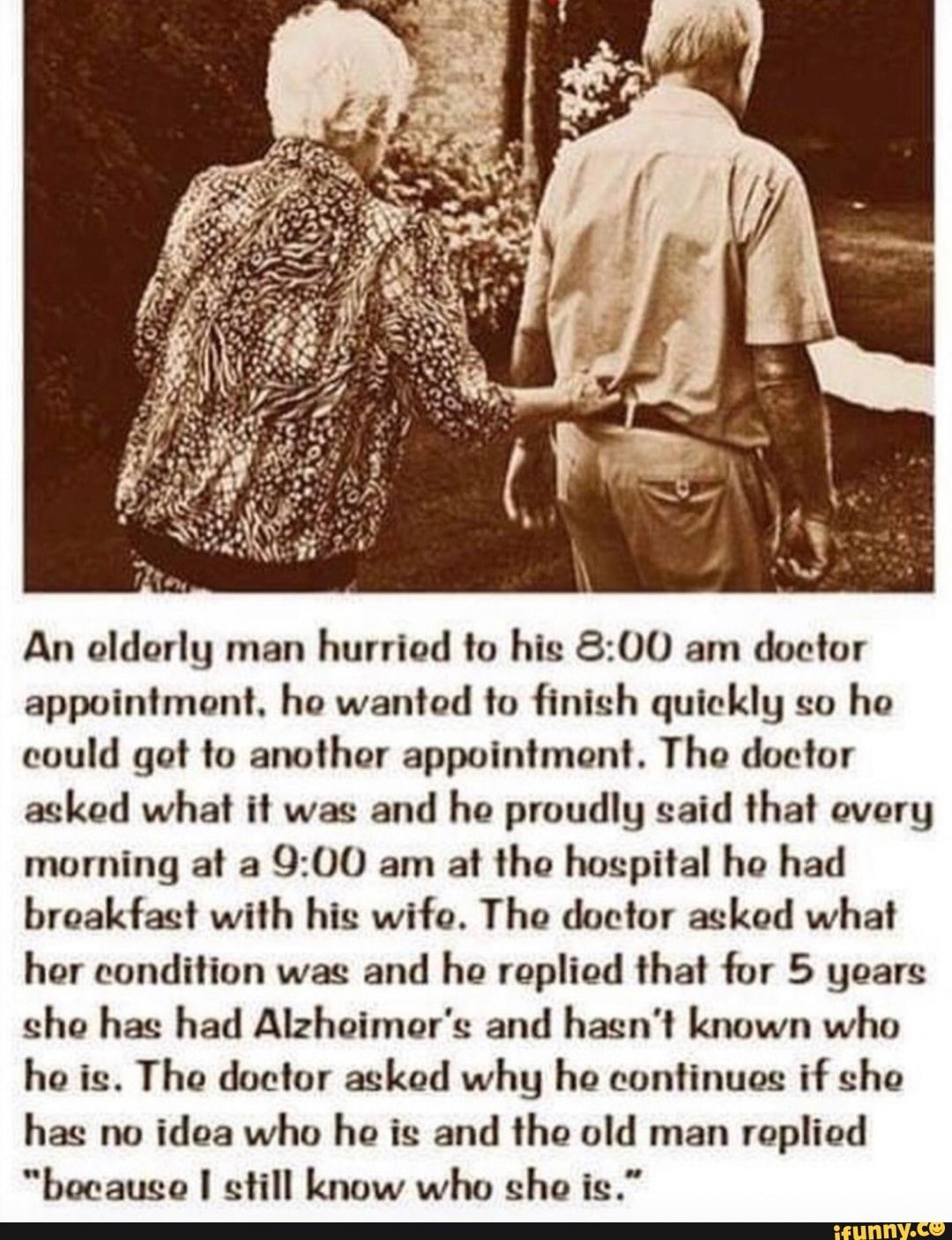 An Oldorly Man Hurried To His 8 00 Am Doctor Appointment Ho Wanted To Finish Quickly So He Could Got To Another Appointment The Doctor Asked What It Was And H Funny