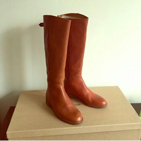 Madewell Cognac Stiefel Stiefel Stiefel   Cognac Stiefel, Madewell and Rain boot df0615
