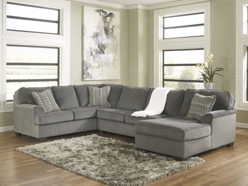 The Grenada 3 Piece Sectional From Ashley Furniture HomeStore (AFHS.com).  With The Oversized Set Back Arms And Comfortable Pillow Back Design, The U2026