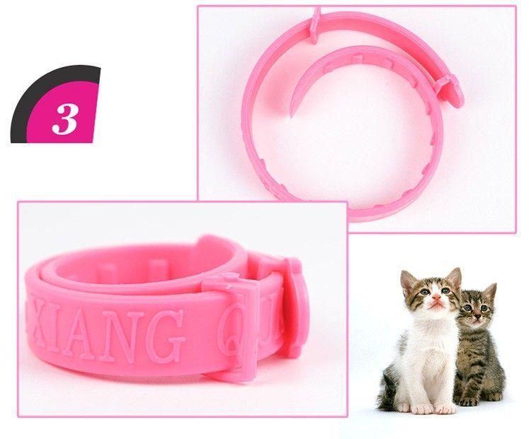 Soft Silicon Cat Flea Collar Cat Fleas Angora Cats Kitten Collars