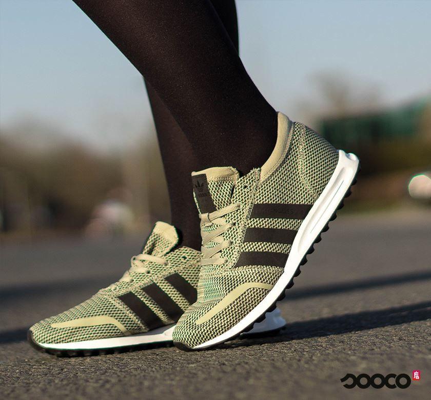 Deze Adidas Los Angeles sneakers zitten echt GE-WEL-DIG! https://www.sooco.nl/adidas-los-angeles-groene-lage-sneakers-30285.html