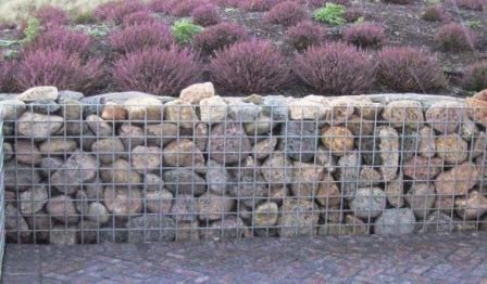 Stensætning - gabioner