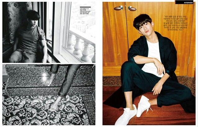 ARENA HOMME+ March 2015 (Taecyeon)