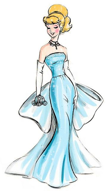 Disney Princess Designer Collection Cinderella Concept Art