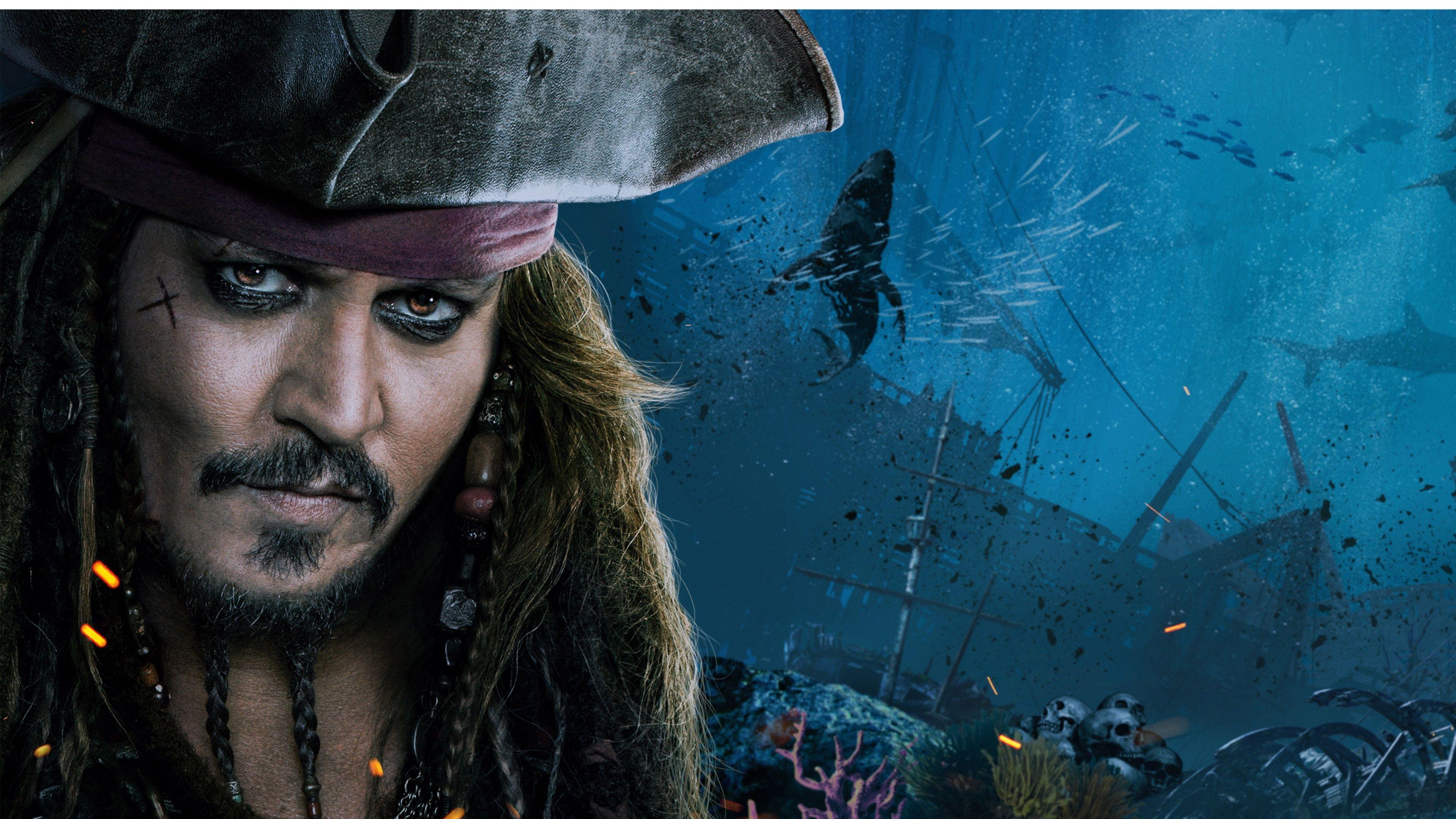 3840x2160 Pirates Of The Caribbean Dead Men Tell No Tales 4k Amazing Wallpaper Hd For Desktop Pirates Of The Caribbean Jack Sparrow Jack Sparrow Wallpaper