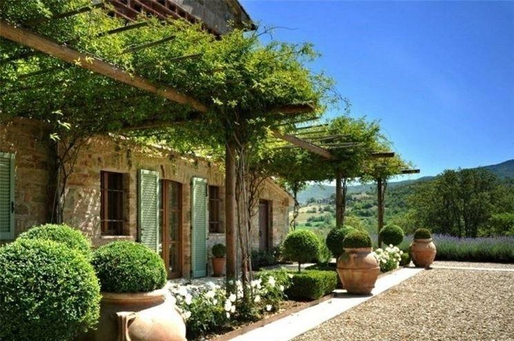 Casa di campagna french provence pinterest casa di - Giardino di campagna ...