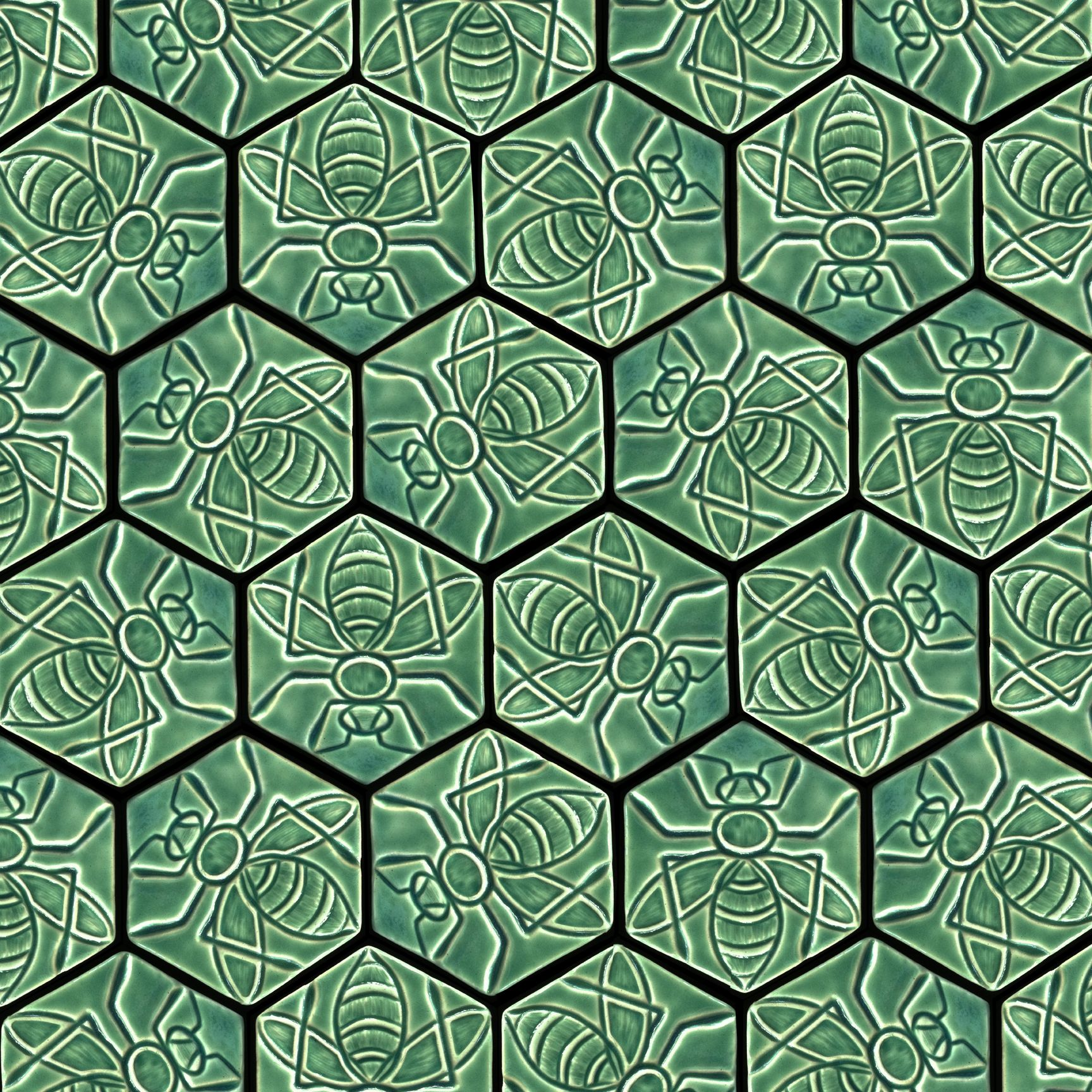 Tessellation Tiles Related Keywords Amp Suggestions Tessellation Bee Decor Honeycomb Tile Bee Design