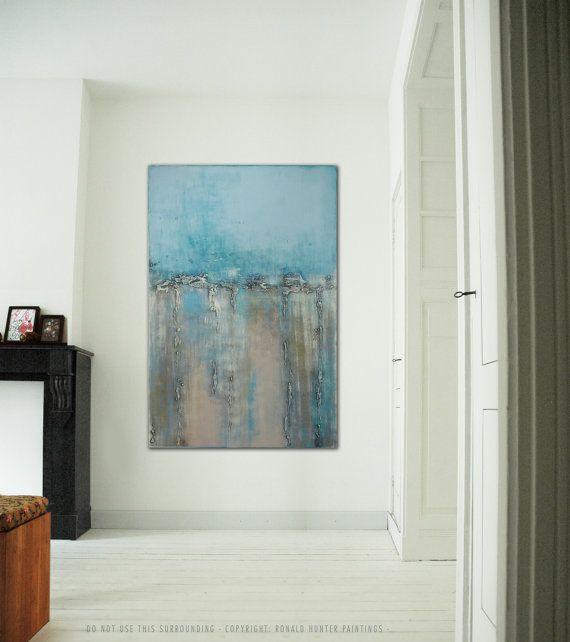 Large Abstract Schilderij  Deep Canyon  315 x 472  door RonaldHunter, $329.00