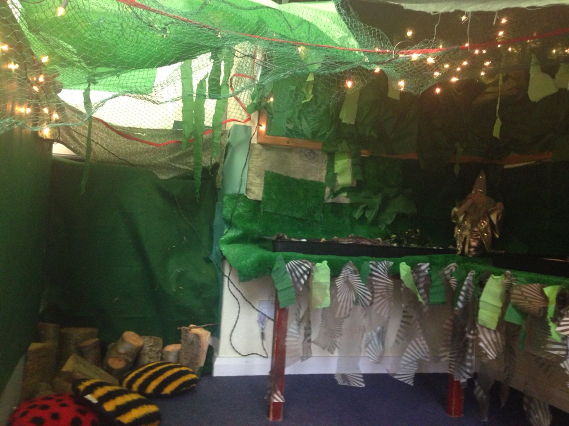 Enchanted Forest Role Play Area Reception General