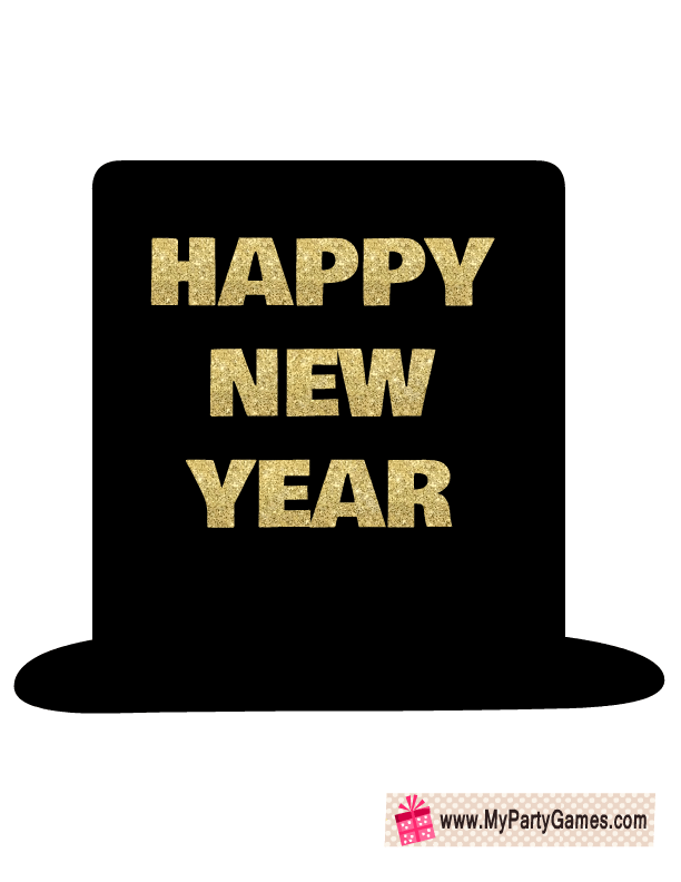 Happy New Year Hat 48
