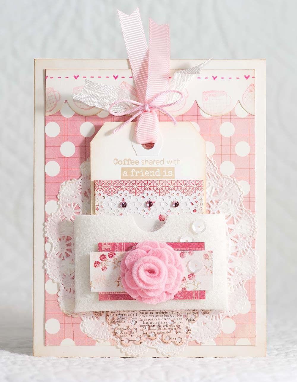 Tcc 3 Coffee Shared With Friends Beautiful Handmade Cards