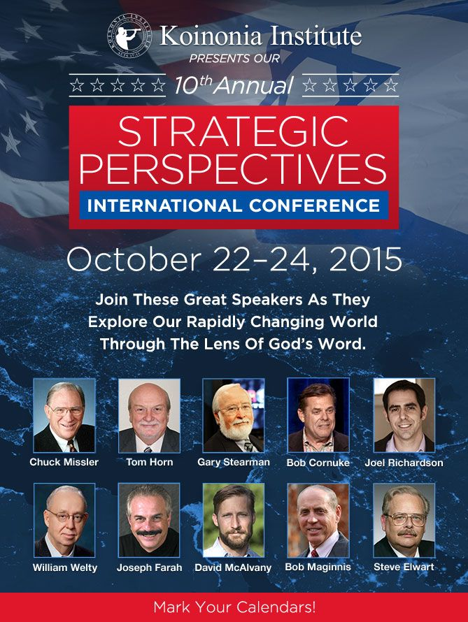 Strategic Perspecitves Conference – October 22–24, 2015