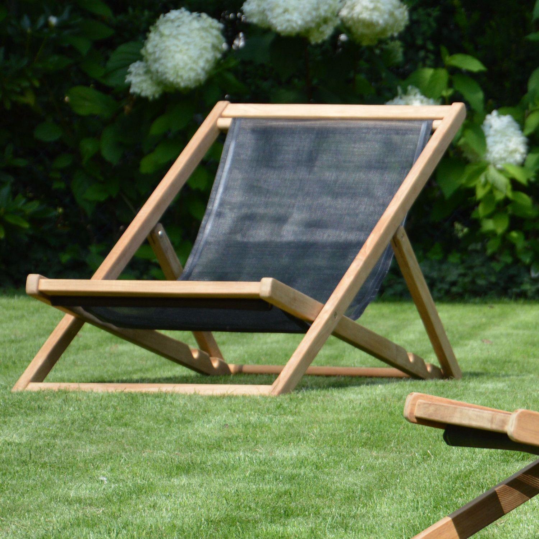 Jan Kurtz Cannes Deckchair Fsc Teak In 2020 Deckchair