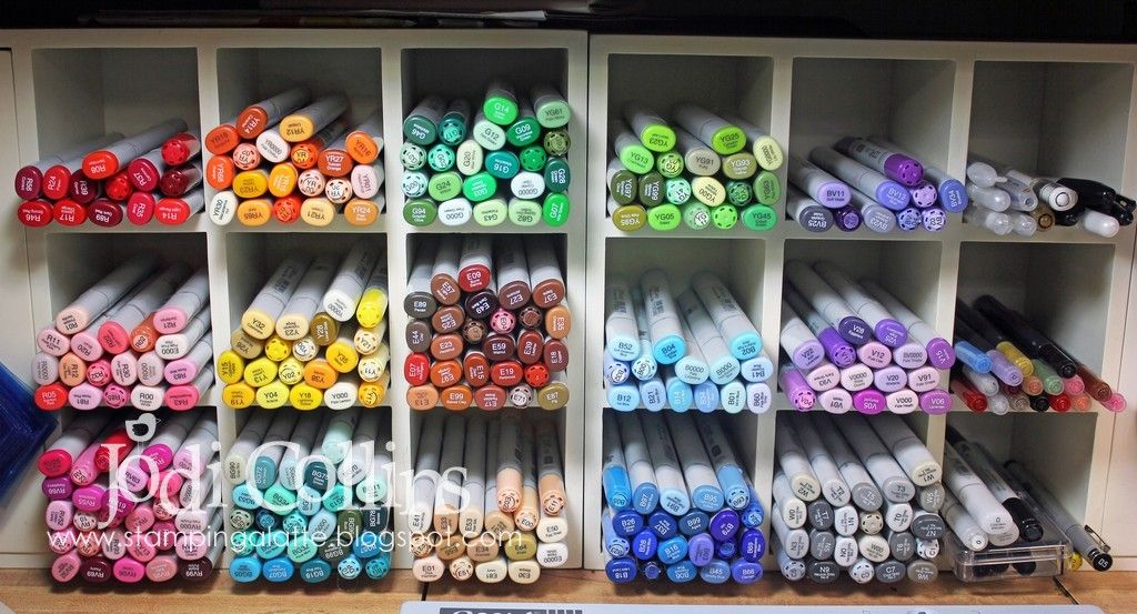 matching copic markers with pantone colors | ... copic markers in my collection using the fabulous copic chart from