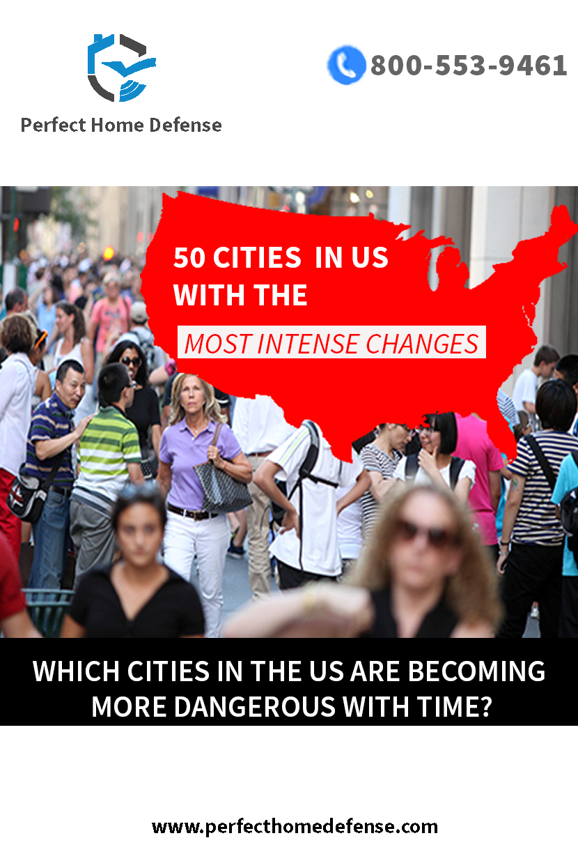 Crime Trends In The Us 50 Cities With The Most Intense Changes Smart Home Security Home Defense Rapid City