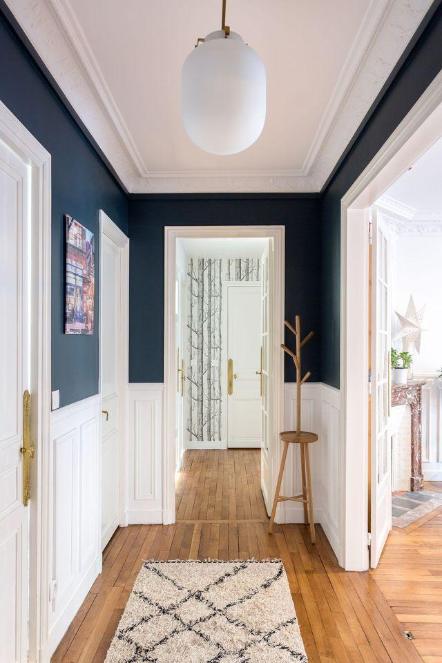 Couloir astuces d co peinture papier peint couloir for Decoration interieure couloir entree