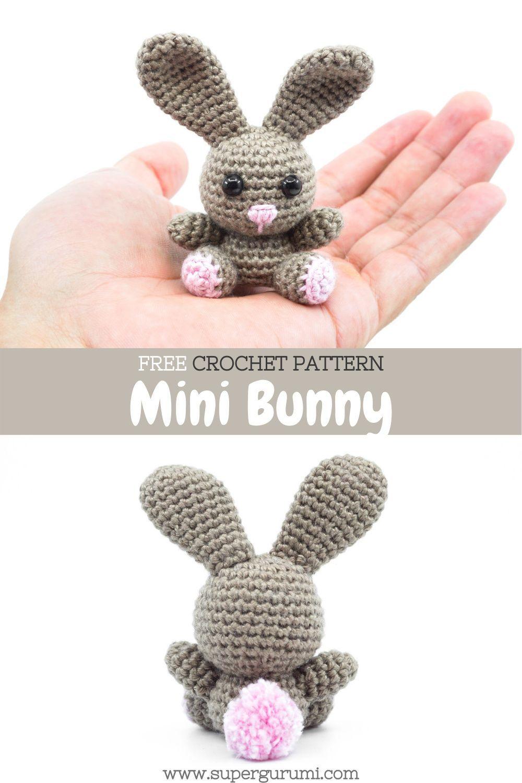 Mini Amigurumi Bunny Crochet Pattern
