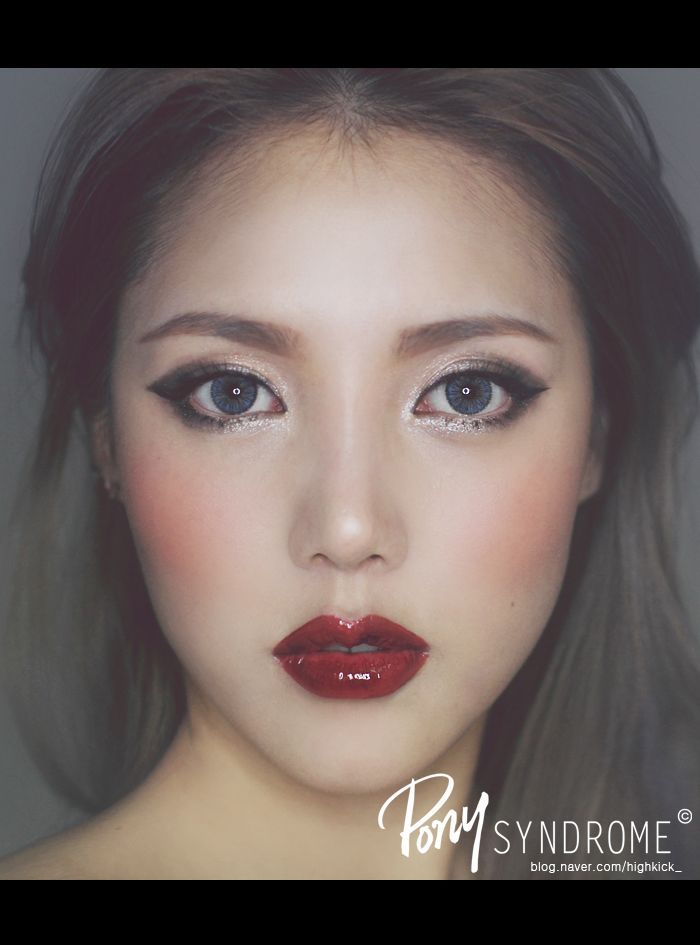 Asian Eyes Kpop And Makeup: Makeup For Round Eyes Asian