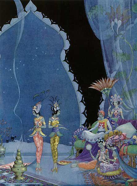 They Danced Before Me - The Arabian Nights by Hildegarde Hawthorne, 1923-1928