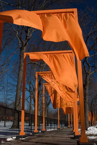 Jeanne Claude and Christo  Central Park Gates