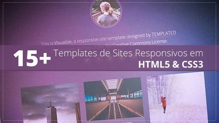 15+ Templates de Sites Responsivos em #HTML5 e #CSS3 http://buff.ly/29Cdxqi #templates #ResponsiveDesign #WebDesign