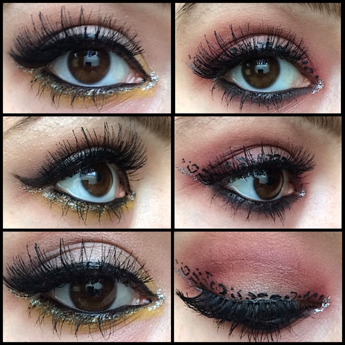 Eye Makeup Eyemakeup Cheetahprint Leopardprint Liner Sparkle