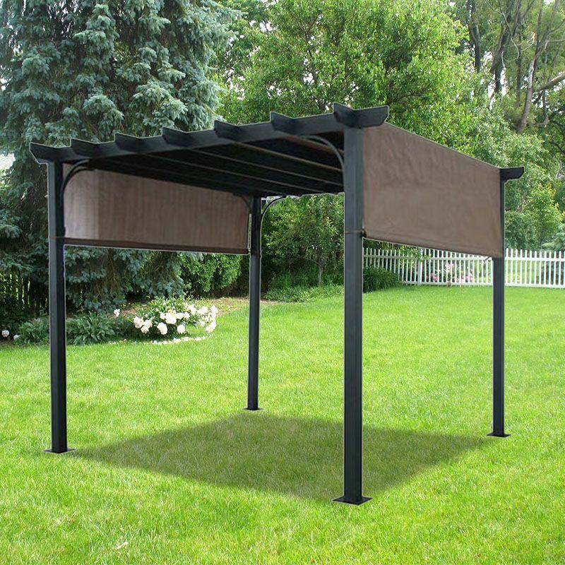 Deluxe Pergola Replacement Canopy - Deluxe Pergola Replacement Canopy In The Yard Pinterest