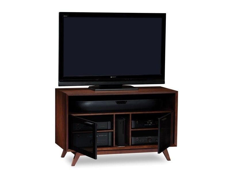 BDI Eras 8358   Chocolate Walnut Home Theatre TV Cabinet
