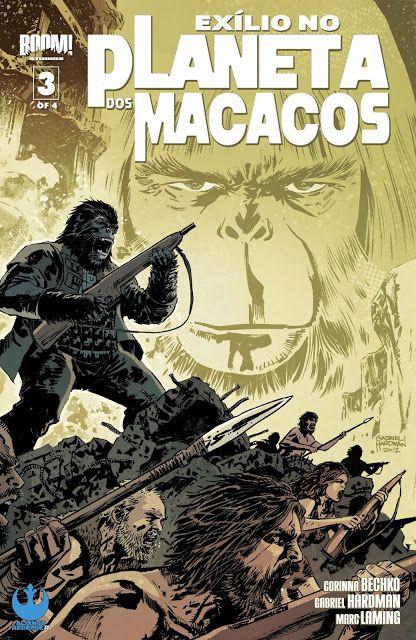 SAM-COMICS: Exilio no Planeta dos Macacos 03 (2012)