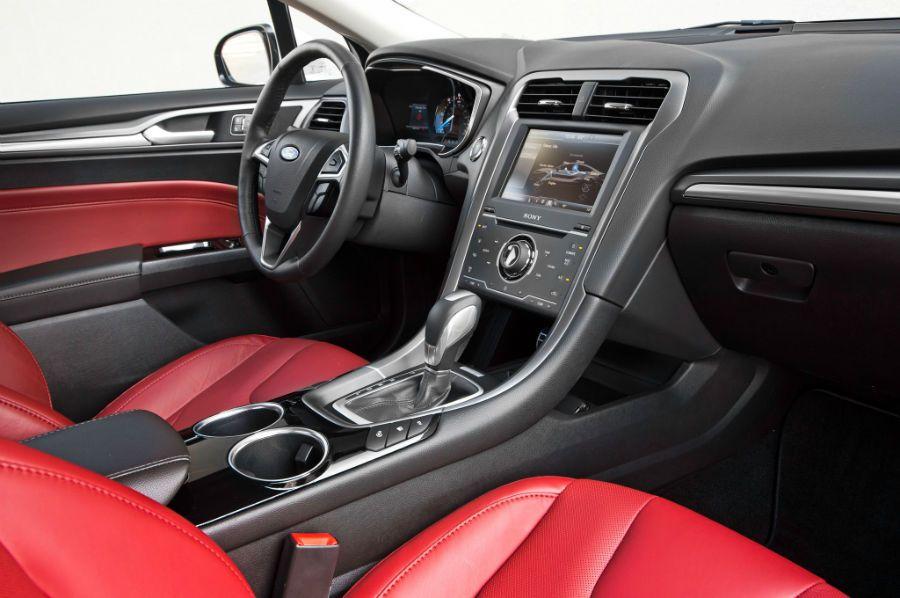 2015 Ford Fusion Titanium Interior Ford fusion, Ford