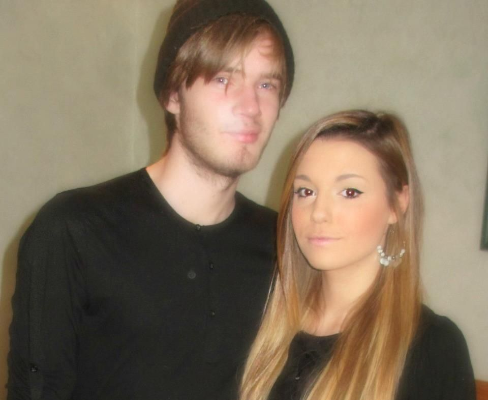 Felix Kjellberg and Marzia Bisognin | Cutest couple ever ...