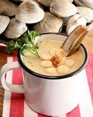 The Seagrille Restaurant Clam Chowder Recipe Clam Recipes