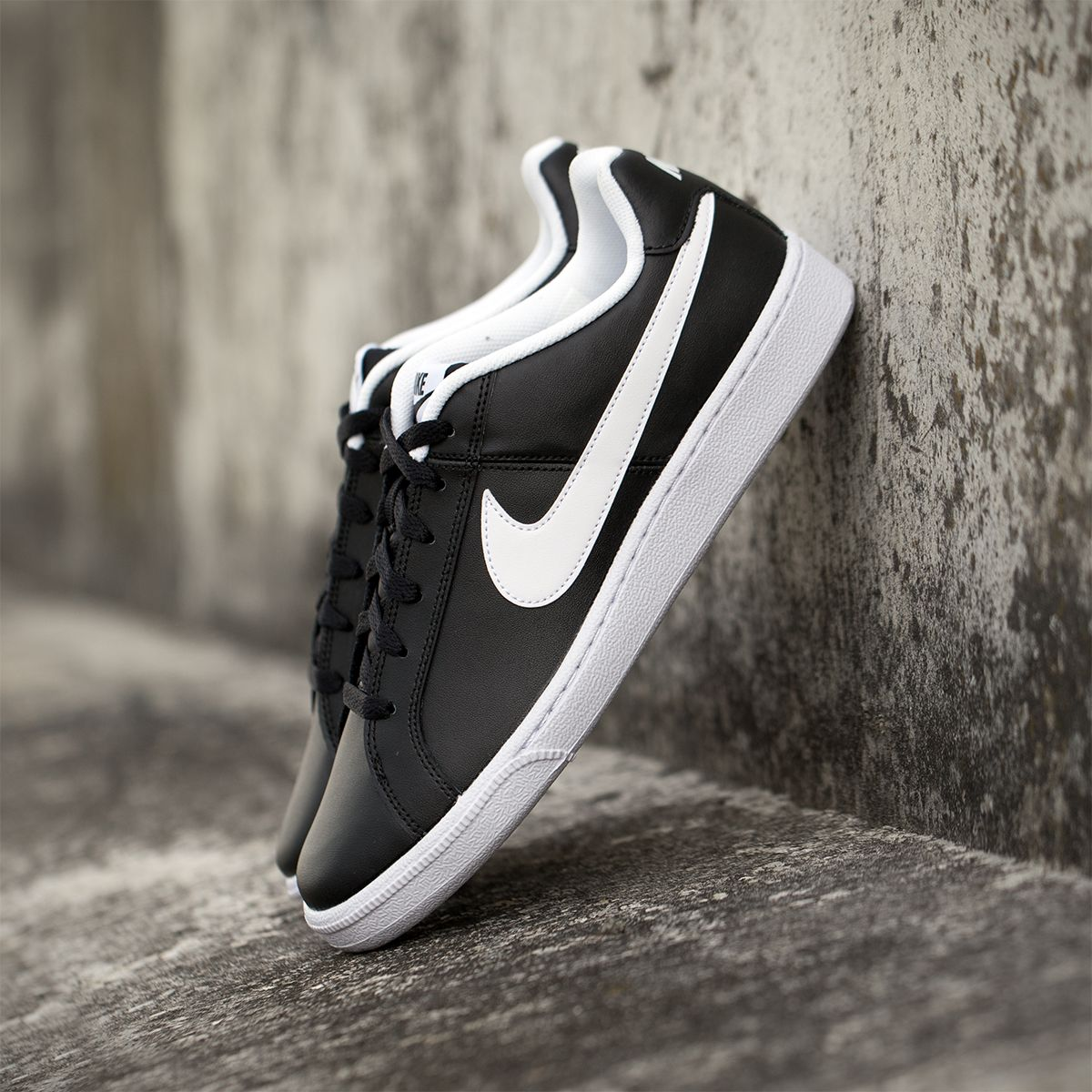 Keep your sneaker game strong with the latest Nike Court Royale sneakers in  Black/White