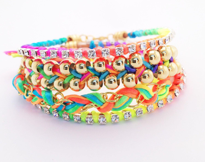 Braceletstacking bracelet charm bracelet friendship bracelet