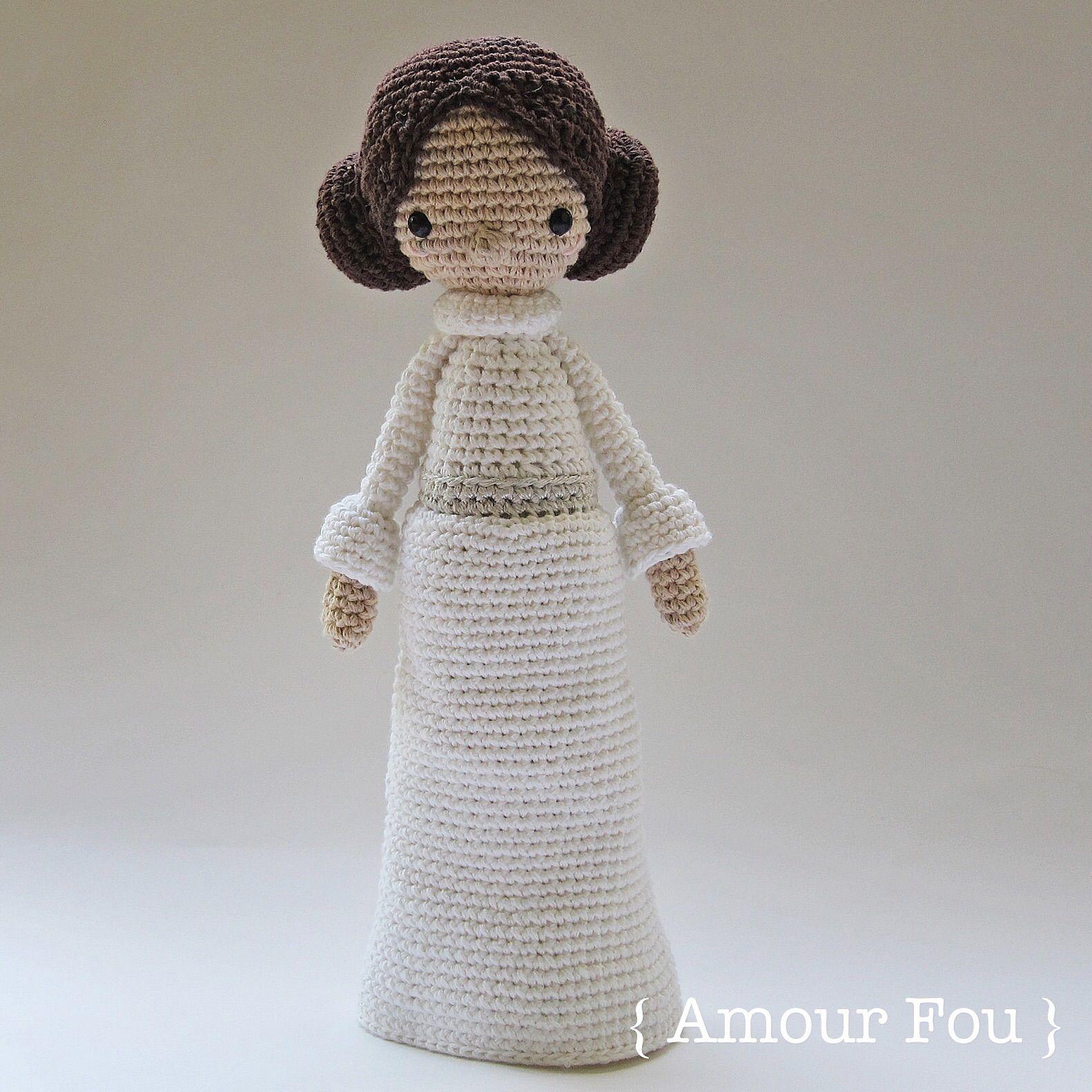 Princess Leia - Crochet Pattern by {Amour Fou} | Princess leia ...