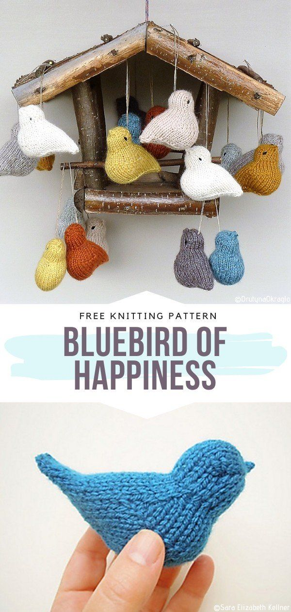 Sweet Little Birds Free Knitting Patterns