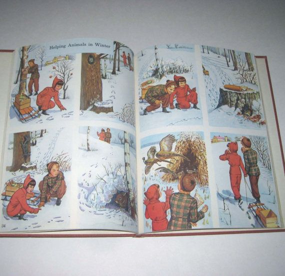 How Do We Know Vintage 1940s Children\u0027s School Reader or Textbook by